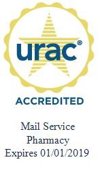 URAC Accredited Mail Service Pharmacy